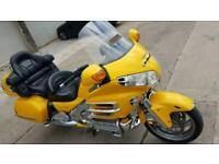 2001 X HONDA GL1800A GOLDWING 1800 GL ABS CLEAN YELLOW HPI CLEAR-TOURER WING