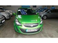2013 Vauxhall Corsa 1.2 Exclusiv 5dr [AC] HATCHBACK Petrol Manual