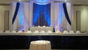 SequinZ Can help you create your dream wedding.