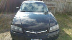 2005 Chev Impala power steering power mirrors Power windows Sunr