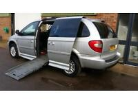 2007 Chrysler Grand Voyager LX Disabled Drive From & Up Front Passenger Wheelcha