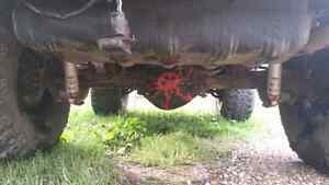 TJ Dana 44/30 axles with lockers, np 241 with sye