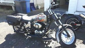 Harley iron head 1000cc 1975