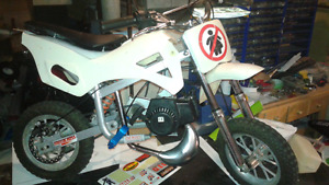 49cc pocket dirt bike.
