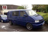 VW transporter T4 . Day van / camper . 1 previous owner . Low miles. Long mot.