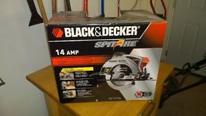 "14 Amp 7 1/4"" Laser Circular Saw ""Spitfire"" by Black and Decker"