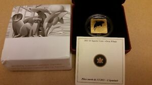 **2011**Wildlife Conservation Series, Orca Whale $3 Square Silve