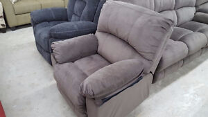 3 piece reclining couch set - delivery available