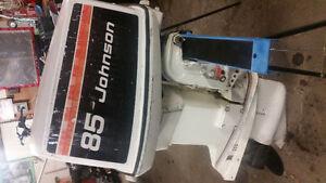Johnson v4 outboard engine