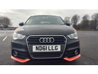 Audi A1 1.6 TDI COMPETITION LINE Good / Bad Credit Car Finance (black) 2011