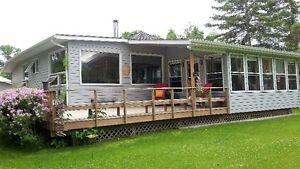Winnipeg Beach Cottage Rental last minute special