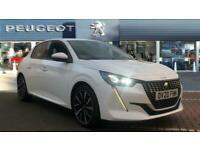 2020 Peugeot 208 1.2 PureTech 100 Allure Premium 5dr Petrol Hatchback Hatchback