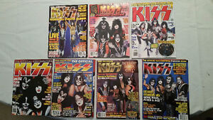 KISS Magazines 90's..MOVING need to sell