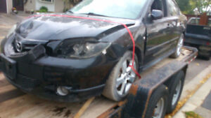 2007 Mazda 3 Part-Out 2.3L