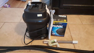 External Canister Filter up to 25 gallons