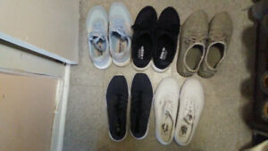 5 LIKE NEW SHOES ALL SEEN ON DAVID BECKHAM (SIZE 10)