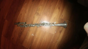 1920 silver plated clarinet Peterborough Peterborough Area image 1
