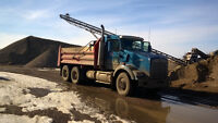 TANDEM DUMP TRUCK FOR HIRE,AGGREGATES DELIVERY