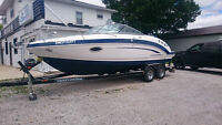 2013 Chaparral 225 SSI  $54,000.00  With Trailer