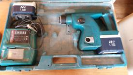 Makita 24v SDS Drill not working spares repair