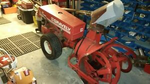Gravely Commercial Garden Tractor with attachments