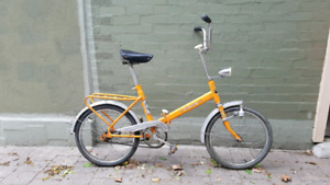 1970s Luxus Sport72 Folding Bike