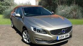 Volvo V60 2.0TD DIESEL ESTATE( 136bhp ) ( s/s ) 2014.5MY SE Lux GOLD METALLIC