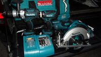 Makita LXT430 Toolkit $300.  $600 at Home Depot.