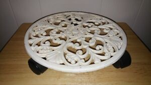 Cast Iron Plant Stand On Casters