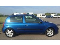 RENAULT CLIO EXTREME 1.2L 16v (2005) 3 door year mot cheap
