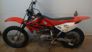 Honda CRF 80F Dirt Bike
