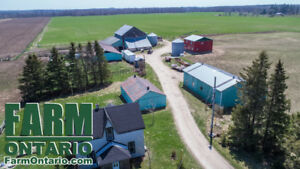 Organic Cow-Calf Farm by Mt Forest with 170+ Acres