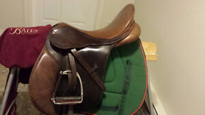 Bates Caprilli All-Purpose Saddle
