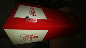 1962 model 10 Ideal submarine door Coke fridge