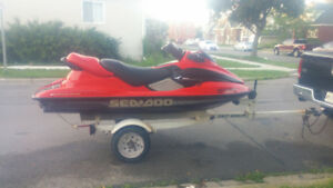 2000 seadoo millennium 3 seater with reverse