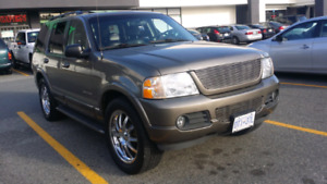2002 explorer limited ,loaded ,leather , exhaust , intake , dvd