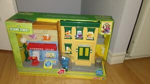 Sesame Street Playset