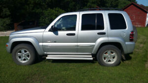 2002 Jeep Liberty LTD 4x4 with extras For Sale
