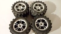 Traxxas stock rims and tires 1/10