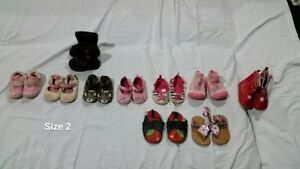 baby shoes-size 2