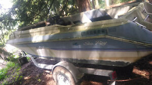 Selling Sea Ray Boat and Trailer