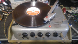 Rare! 1950s Califone class a tube stereo