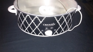 3 setting crock pot for sale is missing the inner Dish