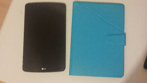 LG GPad II 8.0 LTE 16gb Tablet with cover