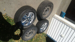$350 OBO Winter tires on steel rims 225/60/r16