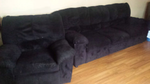 Couch and chair  table (pick up only)