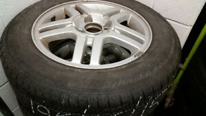 4 ALUMINIUM RIMS and TIRES