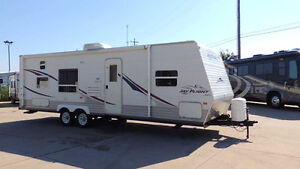 WANTED 26' to 32' RV Camper Trailer