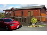 HUGE PRICE DROP ... BARGIN lodge for the price of a secondhand static van on Todber Holiday Park