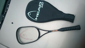 Head Sonic 440 Squash Racquet  great racquet, excellent frame an